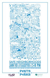 Pints for Parks - Safe Neighborhoods @ Flat12 Bierwerks